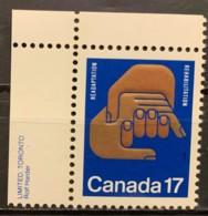 CANADA - MNH**  - 1980 - # 856 - 1952-.... Règne D'Elizabeth II