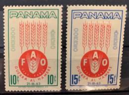 PANAMA - MNH**  - 1963 -  # C282/283 - Panamá