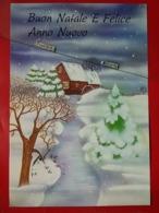 KOV 8-204 - New Year, Bonne Annee, MOULIN, WATERMIL, Mill, Stamp Italia Cinema - Neujahr