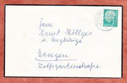 Trauerbrief, Heuss, Langen 1958 (94279) - [7] République Fédérale