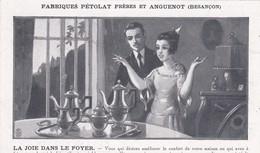 Carte Postale: Fabrique Pétolat Et Anguenot, Besançon La Grande Viotte, Orfévrerie. - Publicité