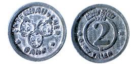 01100 GETTONE TOKEN JETON AUSTRIA DISNEY GADGET TOKEN ENTENHAUSEN BANK 2 TALER - Jetons En Medailles