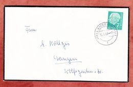 Trauerbrief, Heuss, Langen, 1958 (94280) - [7] République Fédérale