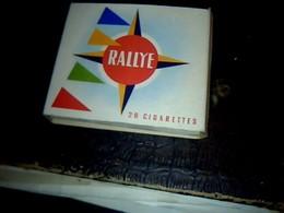 Publicité Cigarettes Boites Ancienne En Carton Marque Rallye SEITA Régie Française - Autres