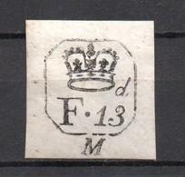 GB .  Cypher Label.  Victorian  Creased - Steuermarken