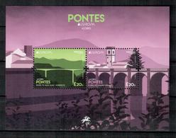 Azoren / Azores / Acores 2018 EUROPA Block/souvenir Sheet ** - 2018