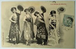 CPA ARTISTE SPECTACLE FEMME - Les Belles De Sévilles - Danseuses Espagnoles - Sévillanes - Bergeret - Artistes