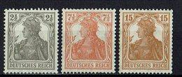 DR 1916 // Mi. 98/100 ** - Alemania