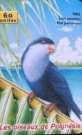 "POLYNESIE FRANCAISE  -  PhoneCard  -  Oiseau "" Nonette ""  -  60 Unités  -  PF 112 - French Polynesia"