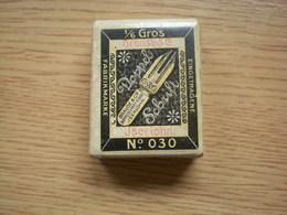 Old Cardboard Box Eingetragene Fabrikmarke Brause Co Doppelschriff Feder Dappel Schrift No 030 - Unclassified