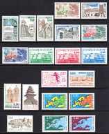 Unesco 1981/91 Neufs** N°66,75/6,78,89,91/5,100,102 à 108    TB   5,50 € (cote 30,95 €  20 Valeurs) - Neufs
