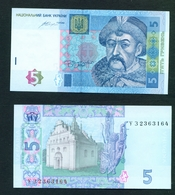 UKRAINE - 2015 5 Hryven UNC Banknote - Oekraïne