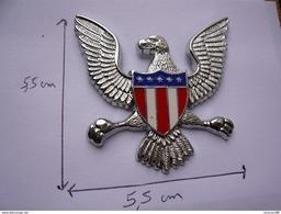 Pin S Moto Harley Davidson Aigle 2 Attaches 5,5 X 5,5 Cm Neuf A Voir - Motos
