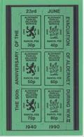 Alderney (Guernsey) - Parcel Delivery Service - Unmounted Mint NHM - Alderney