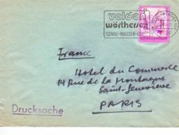AUTRICHE : 1984 - Lettre Commerciale (Imprimé) Pour La France - 1981-90 Briefe U. Dokumente