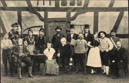 Cp Husum In Nordfriesland, Sößtig Mark Kurant, Dilettantenklub Fidele Geister, Theatergruppe - Allemagne