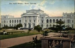Cp São Paulo Brasilien, Museo Ypiranga, Blick Auf Das Museum - Brésil