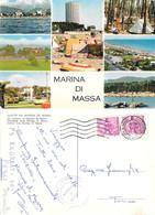 Saluti Da Marina Di Massa. Viaggiata 1966. International Touring Camping - Altre Città
