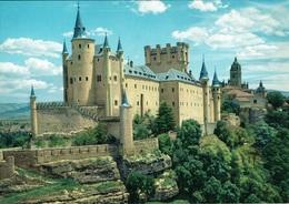 SEGOVIA-EL ALCAZAR Y LA CATEDRAL - Segovia