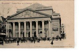 Bruxelles, Théâtre Royal De La Monnaie - Markten