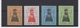 Alderney (Guernsey) 1975 Christmas Set Of 4, @plus' Overprints NHM Unmounted Mint - Alderney