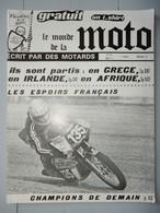 ANCIENNE REVUE N°38 AOUT 1977 LE MONDE DE LA MOTO - Moto