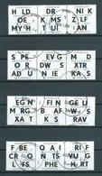 2009 Netherlands Complete Set Braille Used/gebruikt/oblitere - Periodo 1980 - ... (Beatrix)