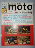 ANCIENNE REVUE N°50 SEPTEMBRE 1978 LE MONDE DE LA MOTO MAGNIFIQUE PUB BOL D'OR - Moto