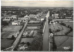 CPSM PIERREFITE - Vue Générale Aérienne Et Le Canal - Ed. CIM N°75-84 A - Autres Communes