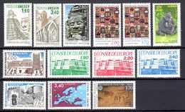 Unesco 1983/2008 Neufs** N°75/6,91/5,107,110/3,140    TB   4,20 € (cote 24,25 €  13 Valeurs) - Neufs