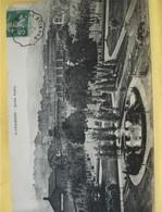 """Cachet Convoyeur """"Lyon A St Etienne 1916"""" Semeuse Frappe Superbe Pour Firminy 2 Scans - Railway Post"""