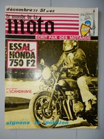ANCIENNE REVUE N°42 DECEMBRE 1977 LE MONDE DE LA MOTO - Moto