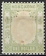 HONG  KONG   -   1904  .Y&T N°  89 Oblitéré.   Cote 28,50 Euros - Hong Kong (...-1997)