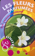"POLYNESIE FRANCAISE  -  PhoneCard  -  Les Fleurs Parfumées "" Le Pua "" - 30 Unités  -  PF 123 - French Polynesia"
