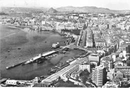 ESPANA Espagne ( Catabria ) SANTANDER : Vista Parcial Aérea / Vue Partielle Aérienne - CPSM Noir Blanc Grand Format 1961 - Cantabria (Santander)