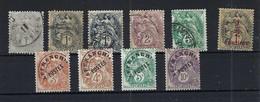 FRANCE: Lot De TP Au Type ''Blanc'', Obl. CAD Et Préobl. (*) B à TB - 1900-29 Blanc