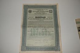 Compagnie Chemin De Fer De L'Ouest-Oural Ex-Berdiaousch-Lysva St-Petersbourg 1912 - Chemin De Fer & Tramway