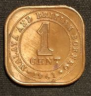 MALAISIE - 1 CENT 1961 - Elizabeth II - 1ere Effigie - KM 5 - ( Malaysia ) - Malaysia