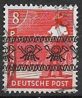 GERMANIA OCCUPAZIONE ALLEATA 1948 EMISSIONI PER LE ZONE AMERICANA E BRITANNICA UNIF.23 USATO VF - Bizone