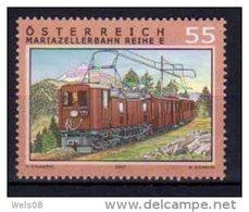 """Österreich 2007:  """"Eisenbahnen""""  Postfrisch - 2001-10 Nuevos & Fijasellos"""