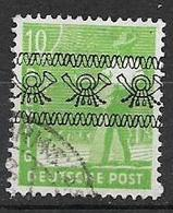 GERMANIA OCCUPAZIONE ALLEATA 1948 EMISSIONI PER LE ZONE AMERICANA E BRITANNICA UNIF.25 USATO VF - Bizone