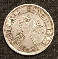 HONG KONG - 10 CENTS 1900 - Victoria - Argent - Silver - ( Qualité ) - KM 6 - Hongkong