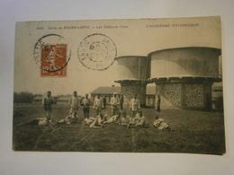 Camp De Bourg Lastic Les Château D'eau,voyagée 1908, Très Bel état,pas Commun - Carrouges