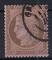 FRANCE: Le Y&T 54 Obl.CAD   B à TB - 1871-1875 Ceres