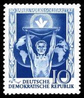 Germany - DDR - 1955 - Mi:DD 484, Sn:DD 258, Yt:DD 215,**MNH - Look Scan - [6] République Démocratique