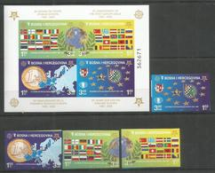 BOSNIA - HERCEGOVINA - MNH - Europa-CEPT - 2006 - Flags - Imperf. - Europa-CEPT