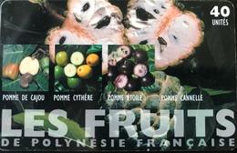POLYNESIE FRANCAISE  -  PhoneCard  -  Les Fruits  -  40 Unités  -  PF 135 - French Polynesia