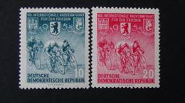 Germany - DDR - 1955 - Mi:DD 470YII,471YII Sn:DD 239,240 Yt:DD 198,199**MNH - Look Scan - [6] République Démocratique