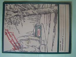 """PROTEGE-CAHIER. PUBLICITE """"LES BELLES PEINTURES VALENTINE"""". 101_0046CPLT.MEL - Peintures"""