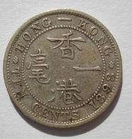 HONG KONG 10 CENTS 1898 SILVER, ARGENT. BRITISH COLONIES. ASIA, ASIE - Hong Kong